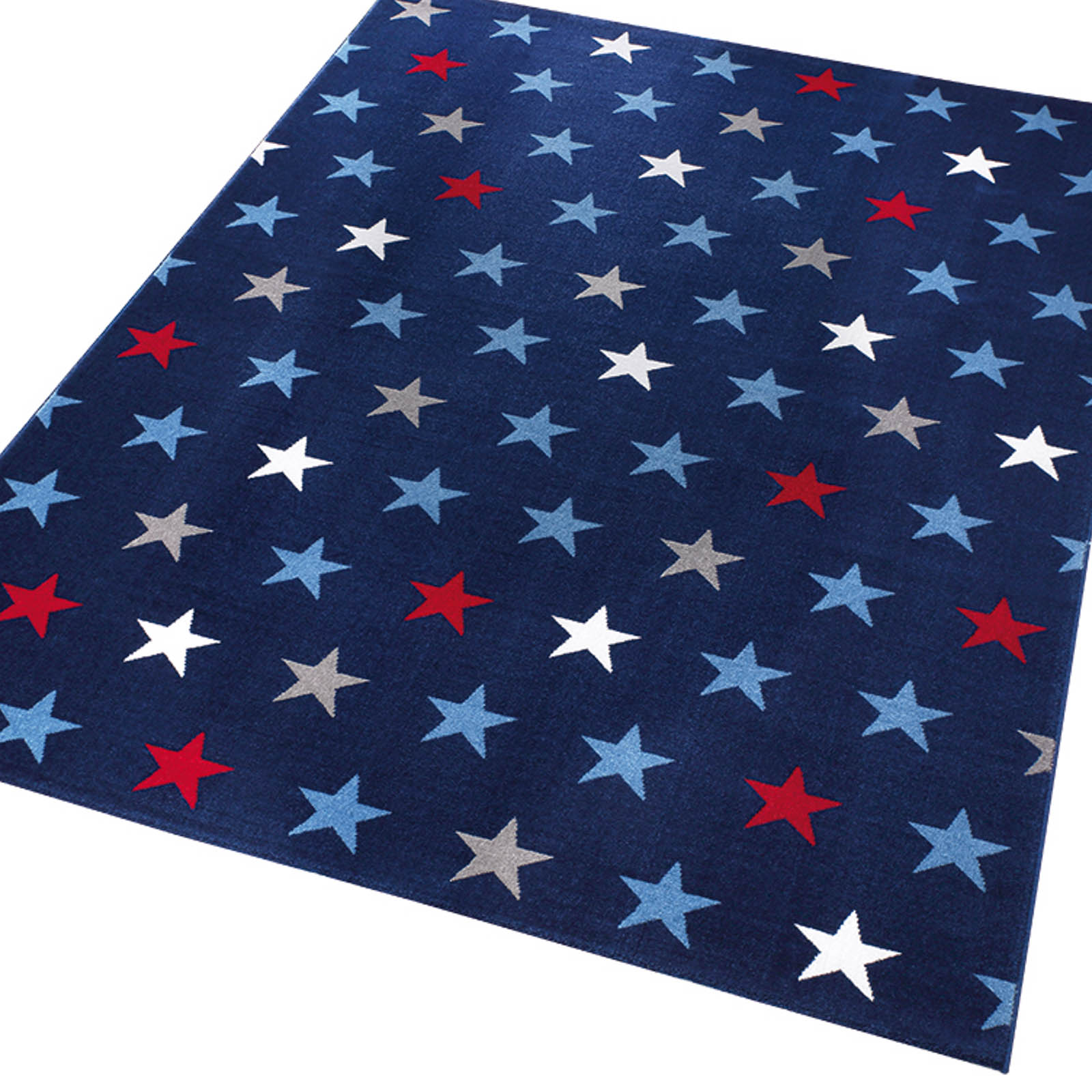 Weconhome Starry Sky Rugs 0703 03 in Blue
