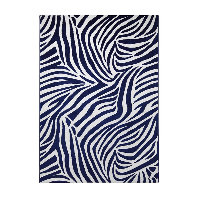 Zebra Rug Large: Weconhome Zebra Rugs 0729 02 In Blue Buy Online From The