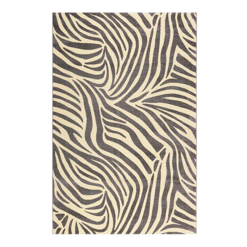 Weconhome Zebra Rugs 0729 03 In Grey Buy Online From The