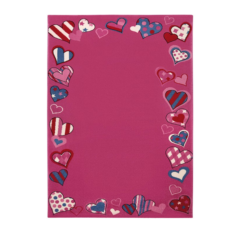 Weconhome Just Hearts Rugs 0766 03 In Pink Buy Online From