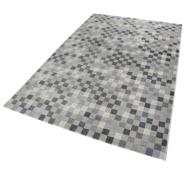 Weconhome Physical Rugs 0870 05 in Grey and Blue