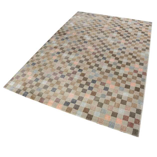 Weconhome Physical Rugs 0870 07 in Beige and Blue