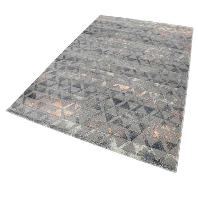 Weconhome Pearl Rugs 0878 02 in Grey