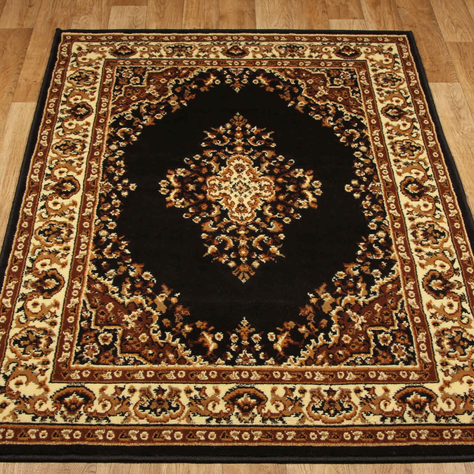 Keshan Rugs 112 Z Chocolate Aubusson