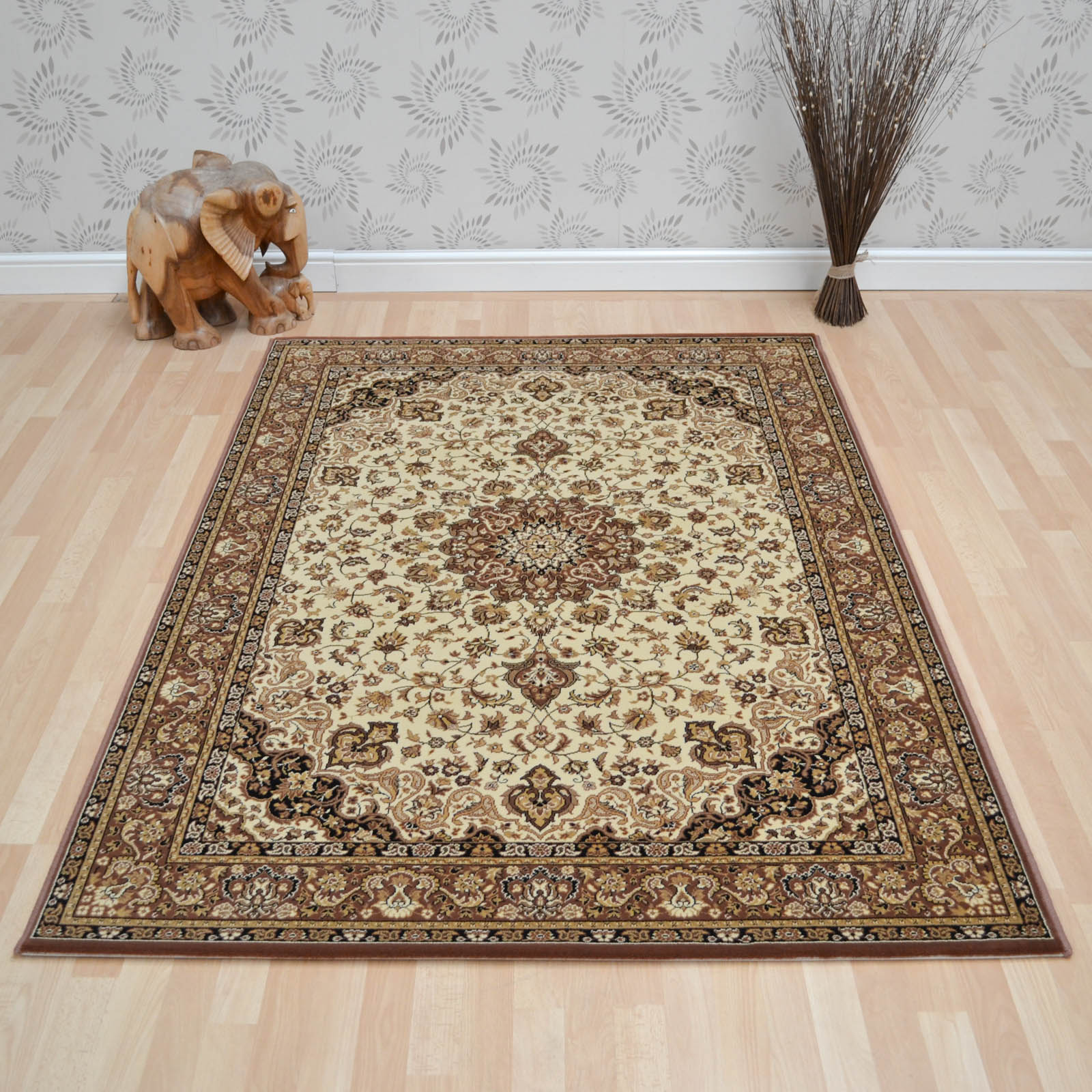 Lano Kasbah Rugs 12217 477 Beige Brown