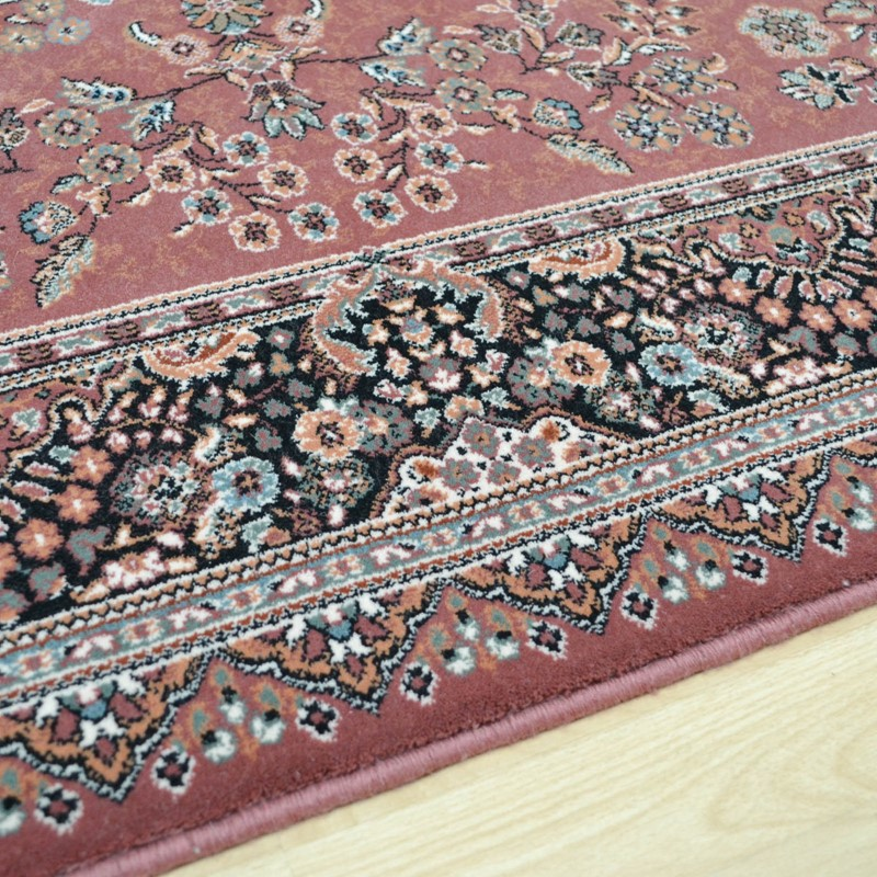 Nain Rugs 1236 676 Rose Pink Buy Online From The Rug Seller Uk