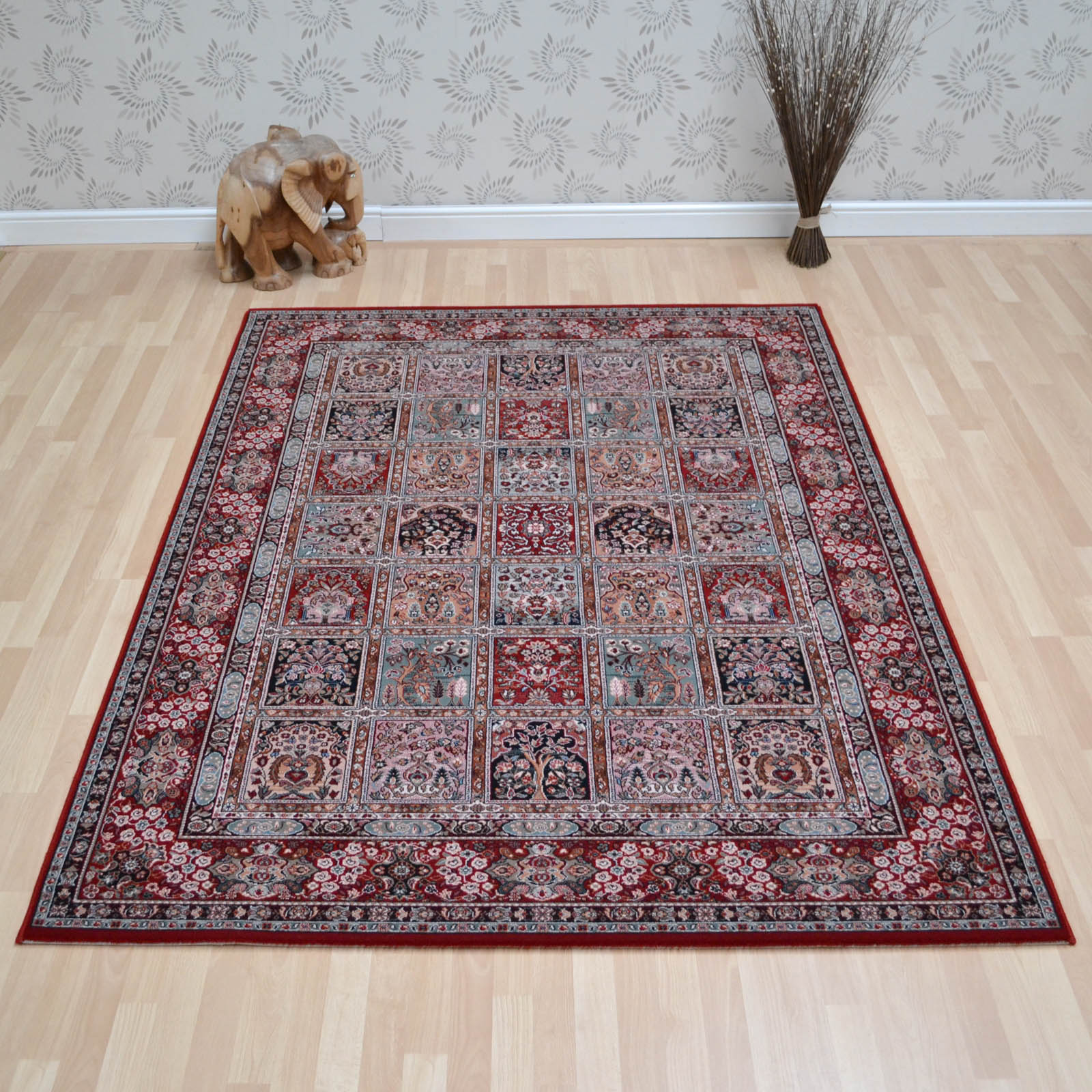 Nain Rugs 1258 677 Red