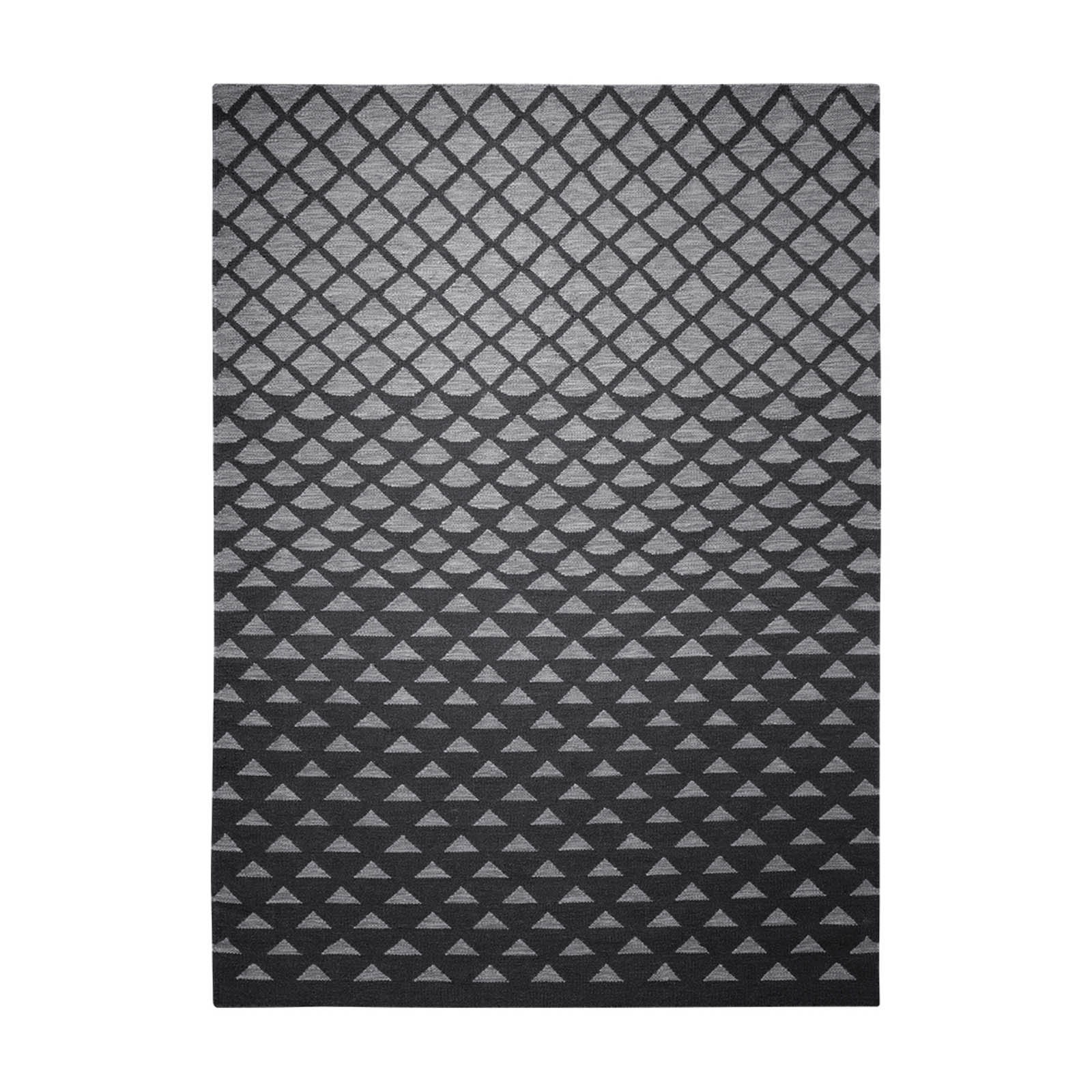 Esprit Wanda Rugs 1406 01 in Black and Grey