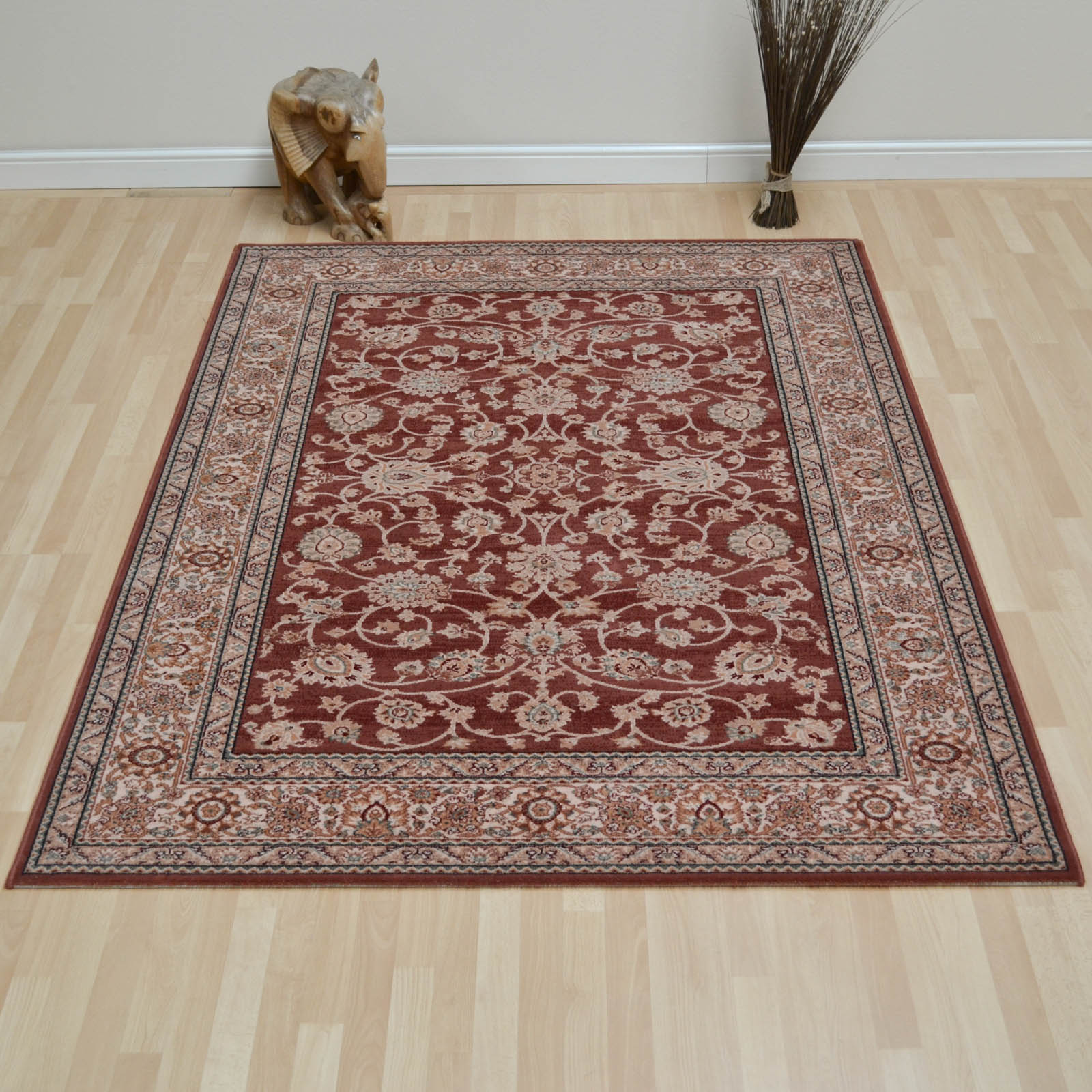 Lano Royal Rugs 1637 525 in Rose and Beige