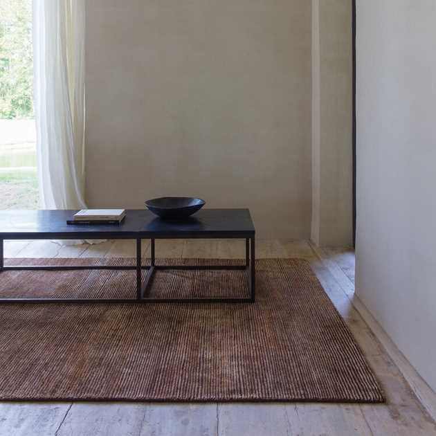 Uni Transform Rugs 192 001 600 in Brown by Ligne Pure