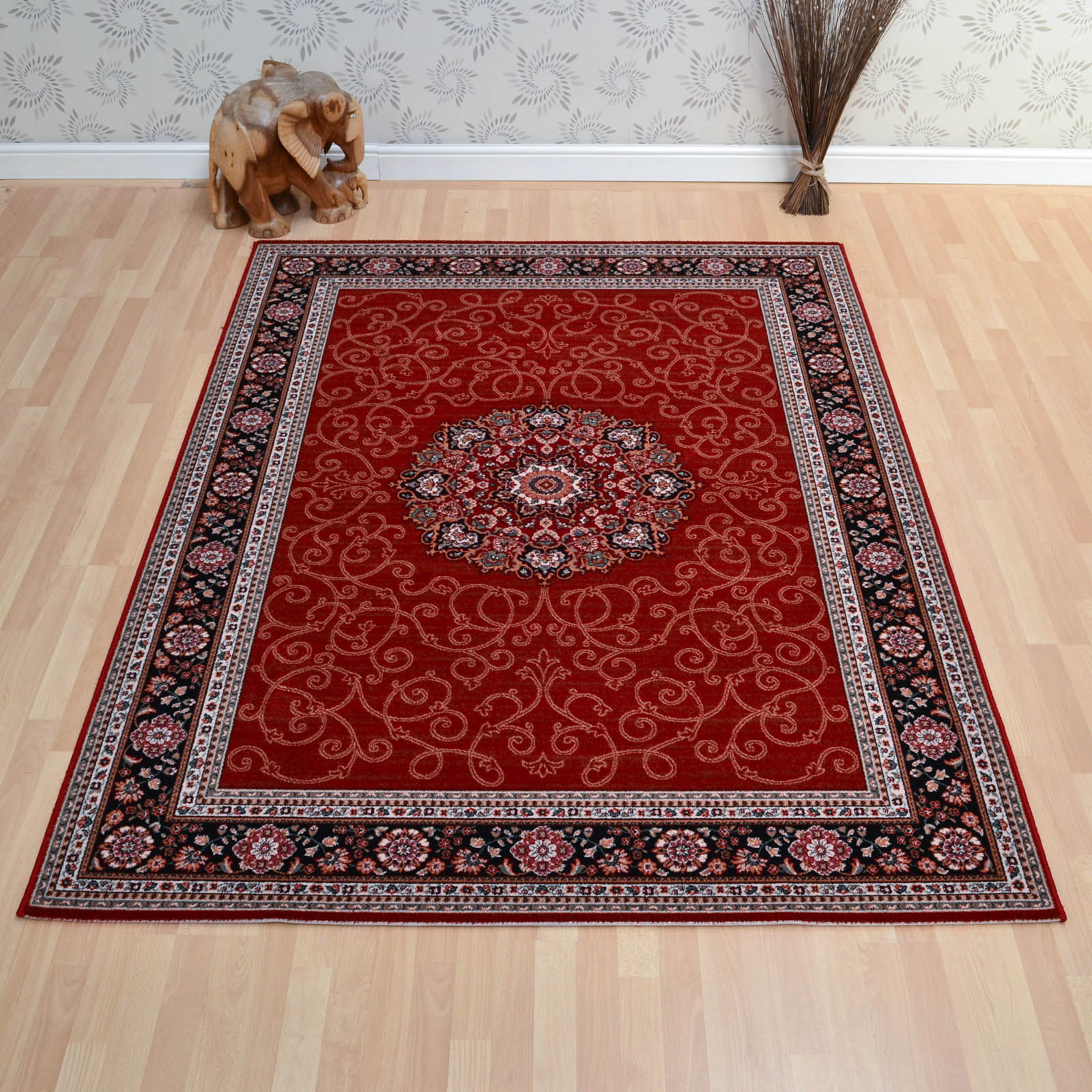Lano Imperial Rugs 1954 684 in Rust