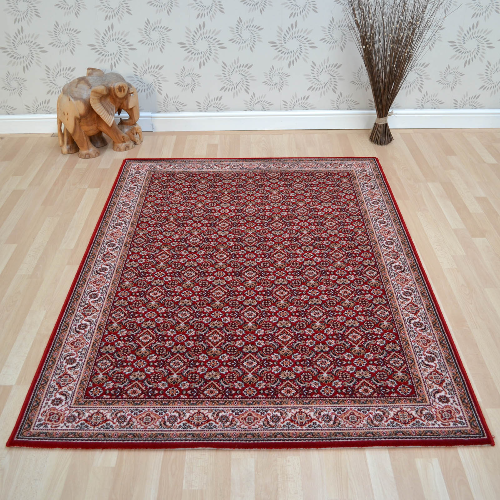 Lano Imperial Rugs 1956 677 Red