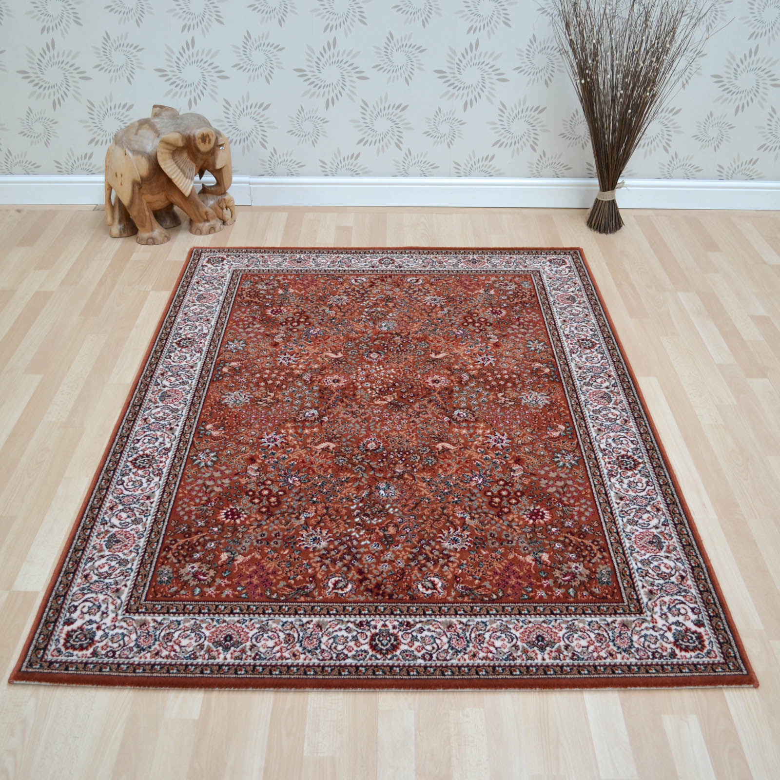 Lano Imperial Rugs 1959 672 Terracotta