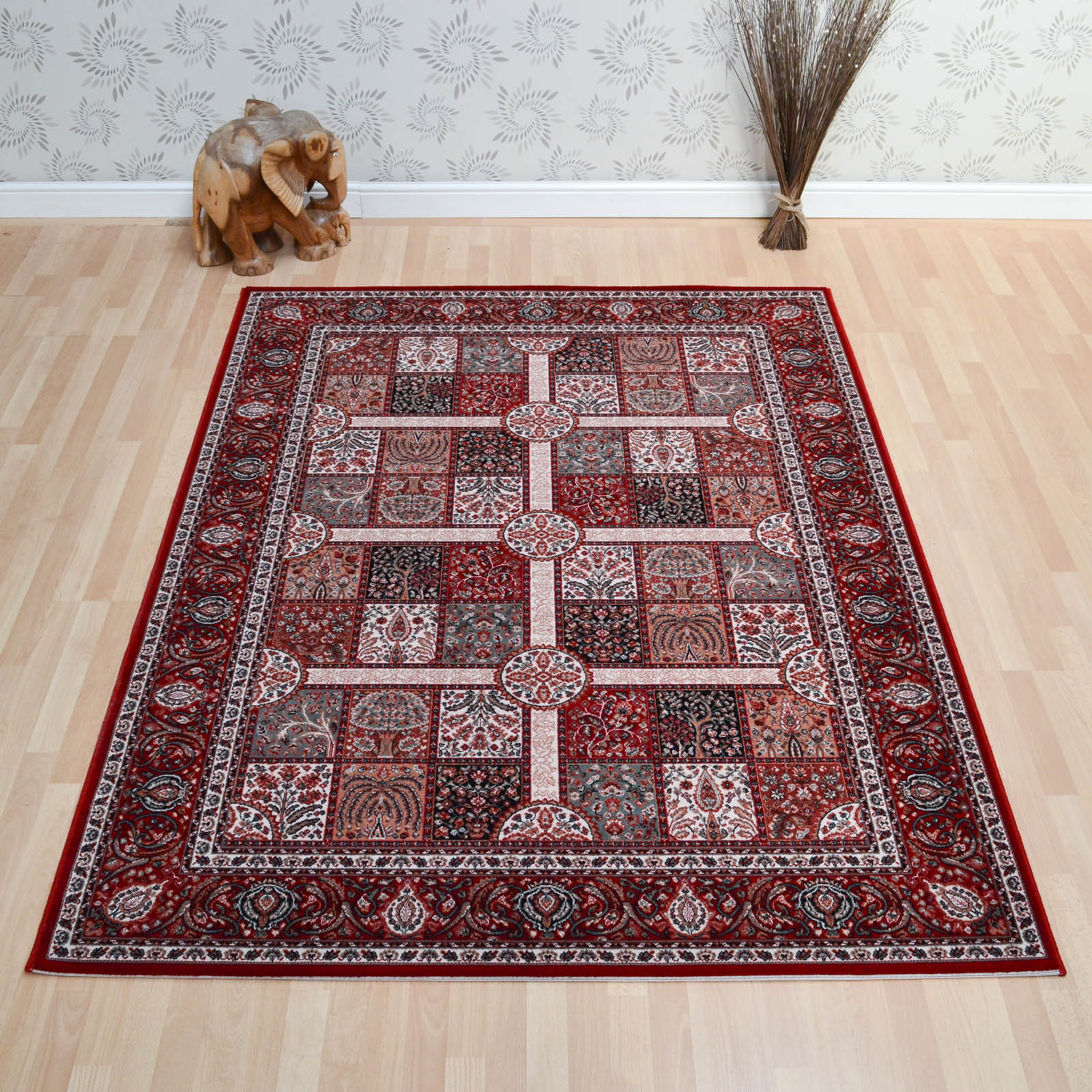 Lano Imperial Rugs 1963 677 in Red