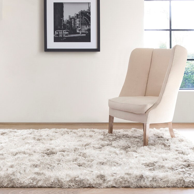 uni adore shaggy rugs    in blue by ligne pure  free uk  - uni adore shaggy rugs    in blue by ligne pure
