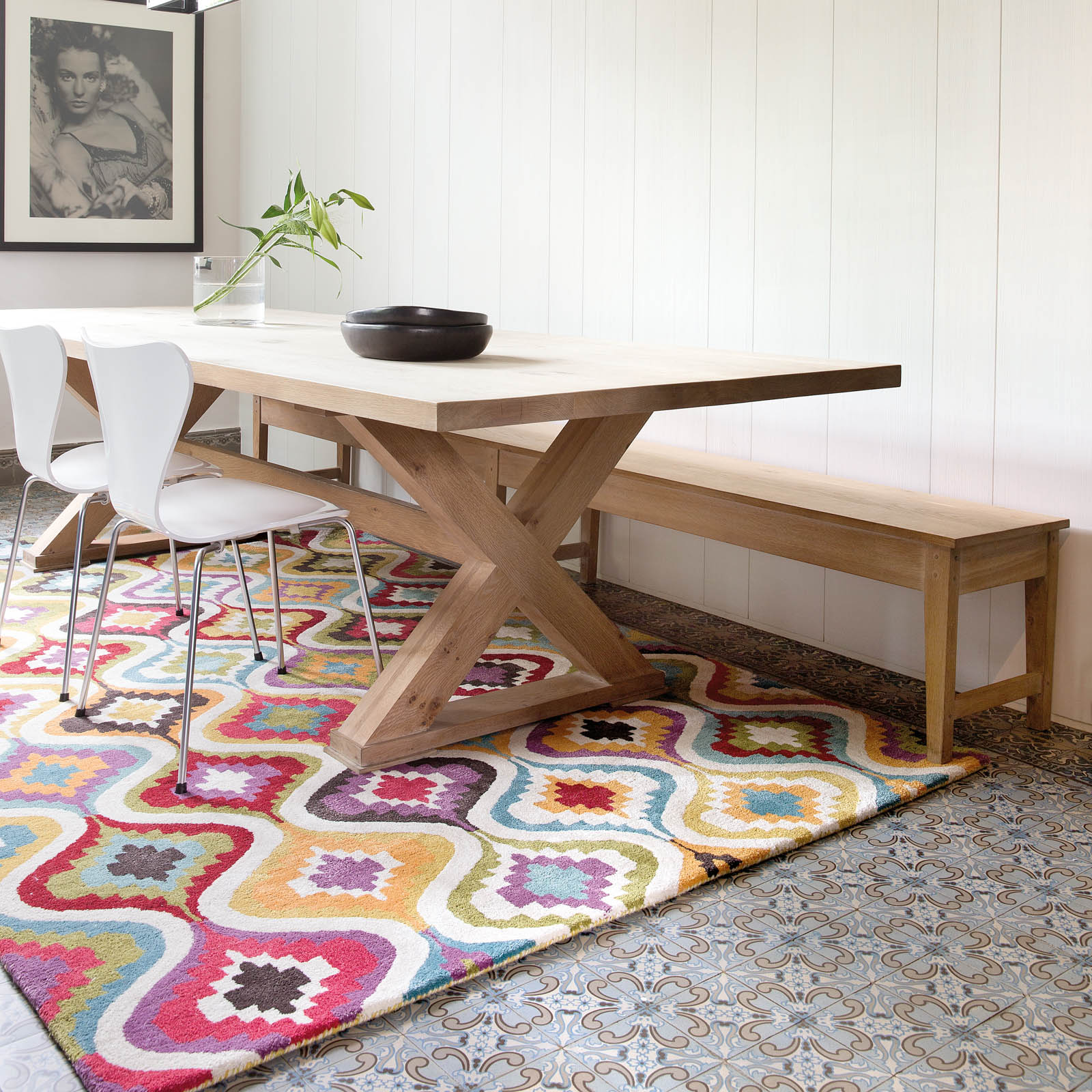 Colors Love Rugs 209 001 990 by Ligne Pure