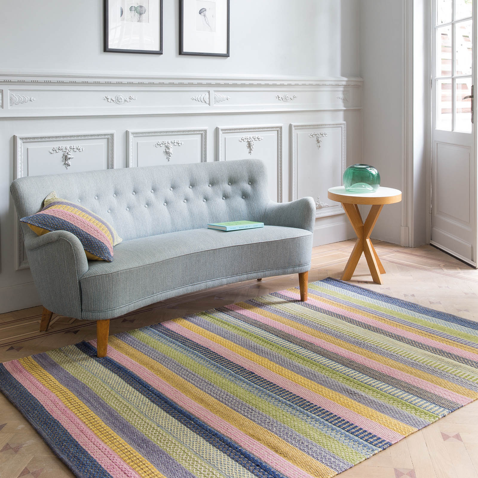 Enjoy Flatweave Multi-coloured Rugs 216 001 200