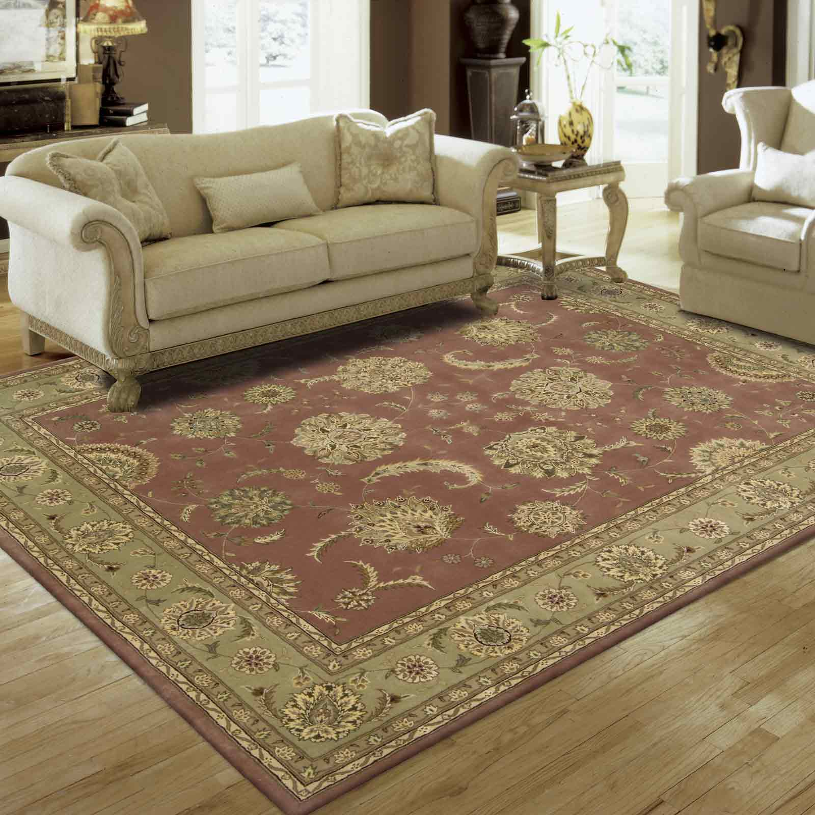 Nourison 2000 Rugs 2215 ROS in Rose PInk