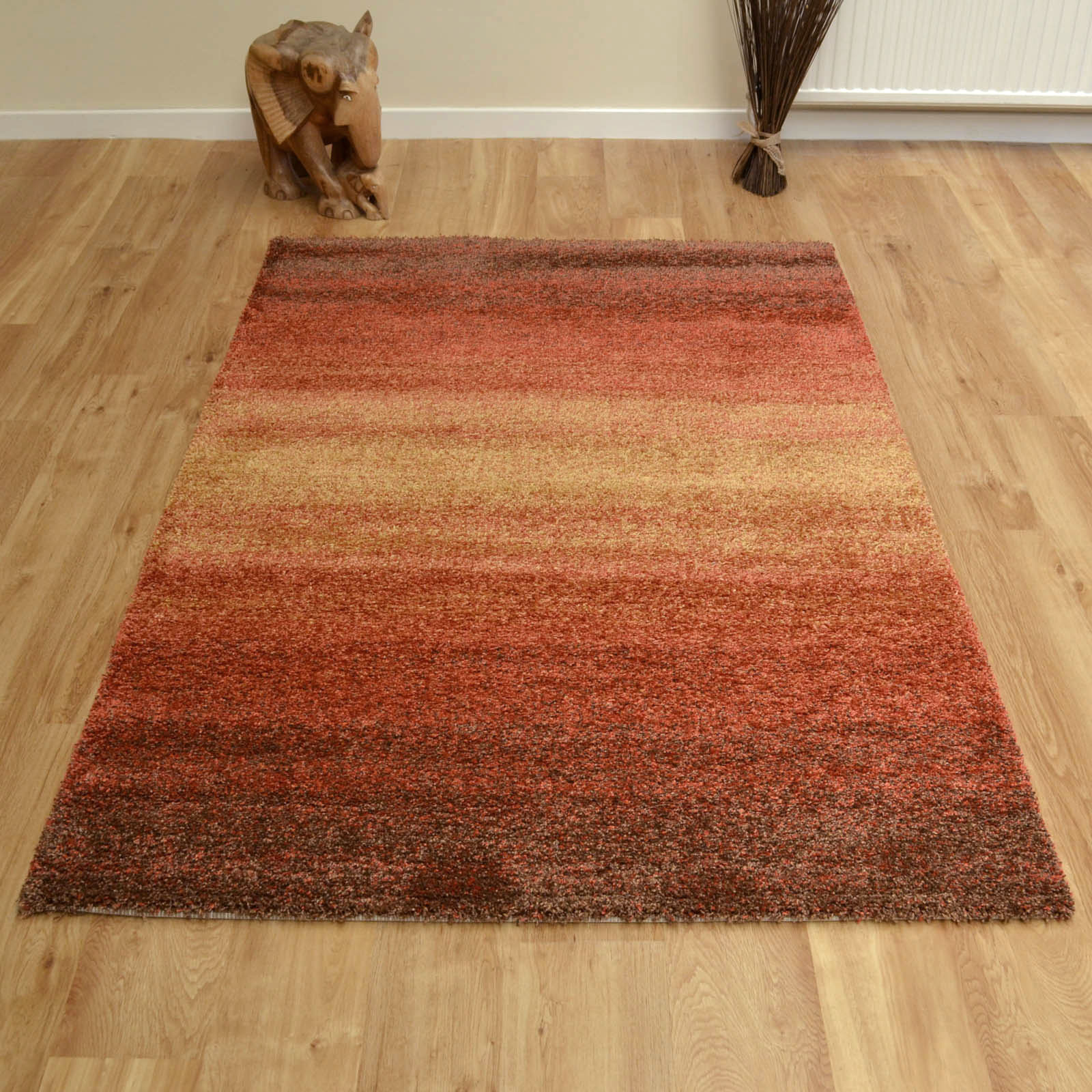 Mehari Rugs 23033 9515 Orange Brown