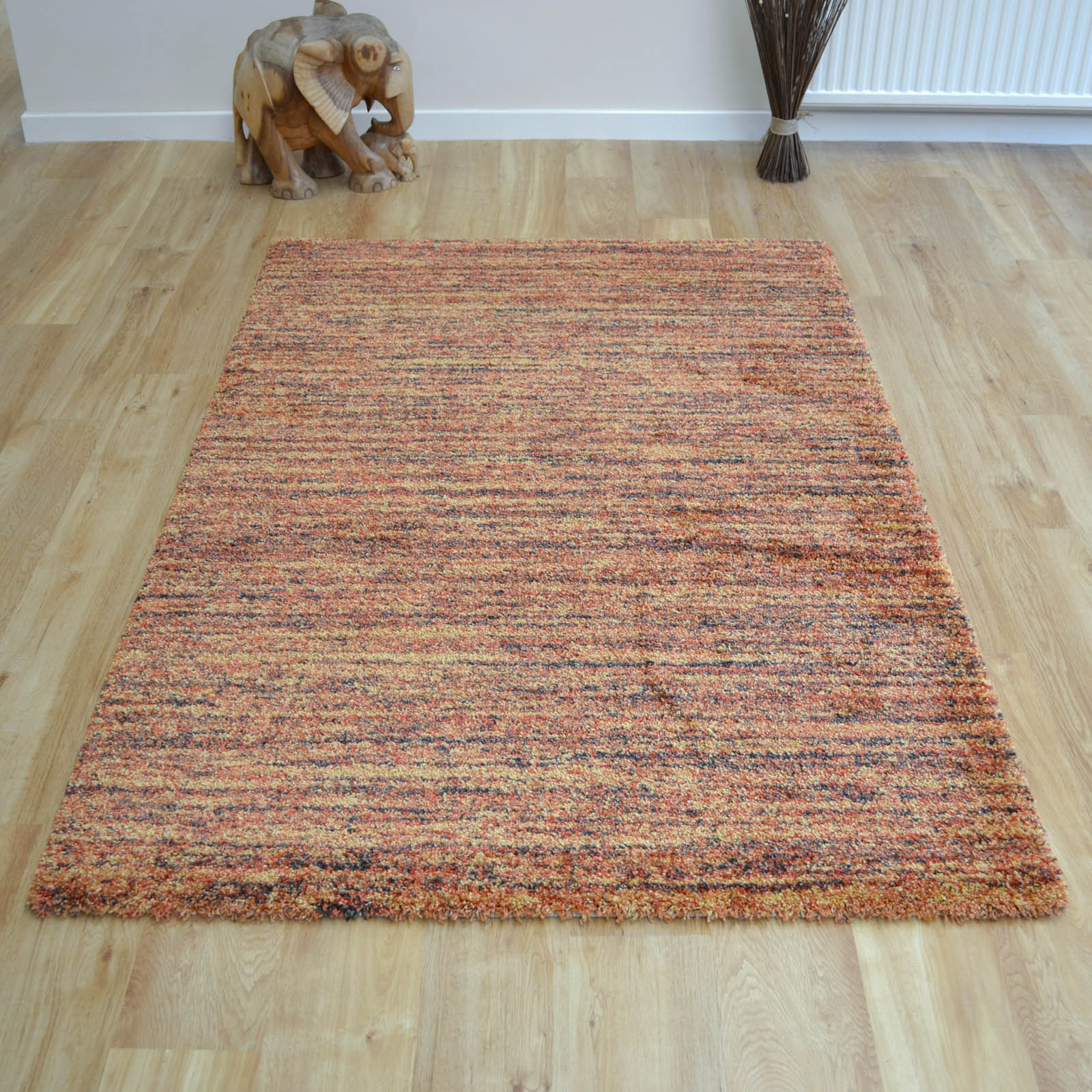 Mehari Rugs 23067 1595 in Burnt Orange