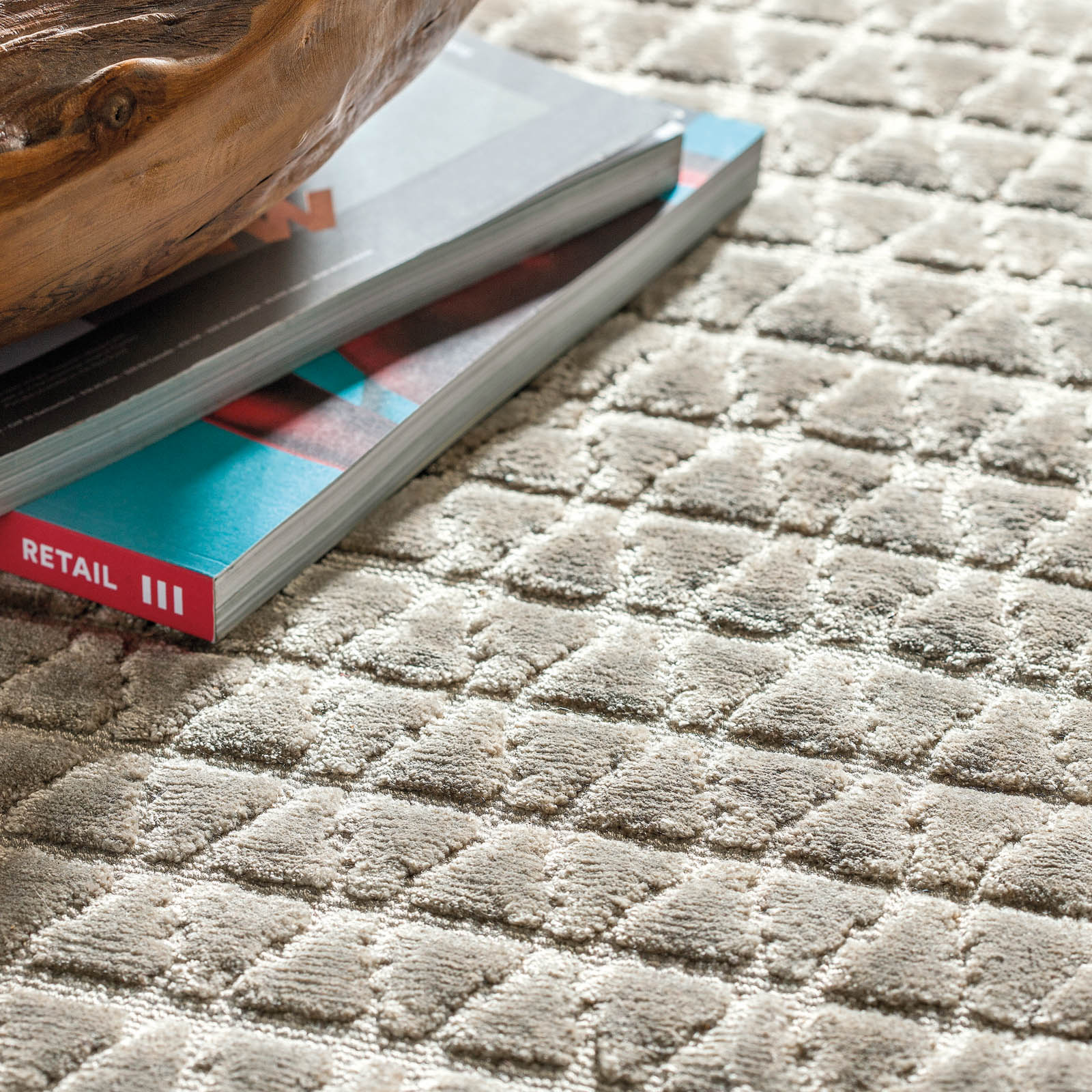 Reflect Rugs 235 001 900 by Ligne Pure