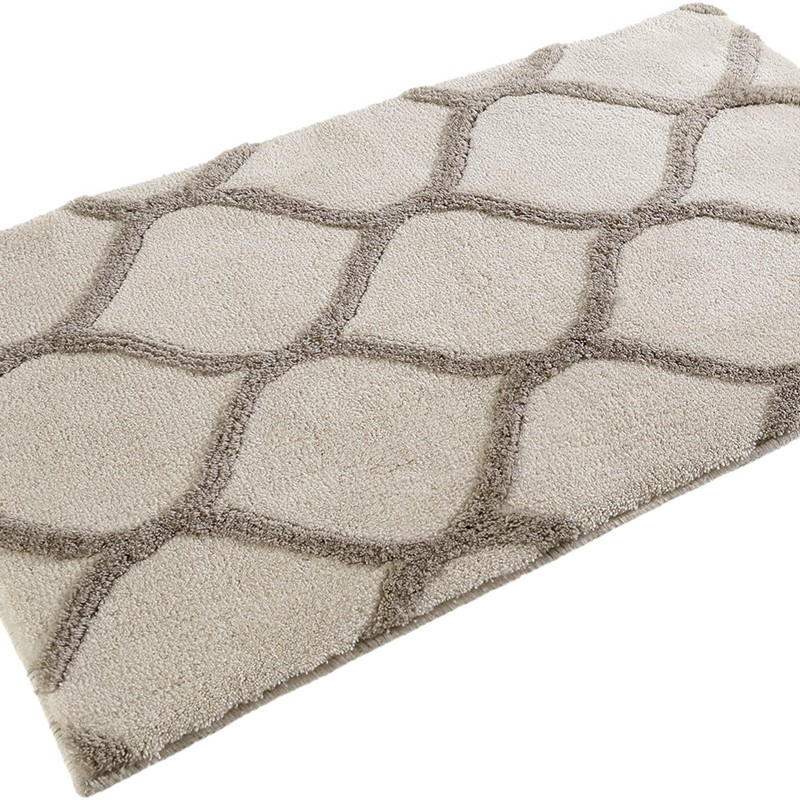Oriental Tile Bath Mats 2427 02 In Beige And Taupe By Esprit Buy Online