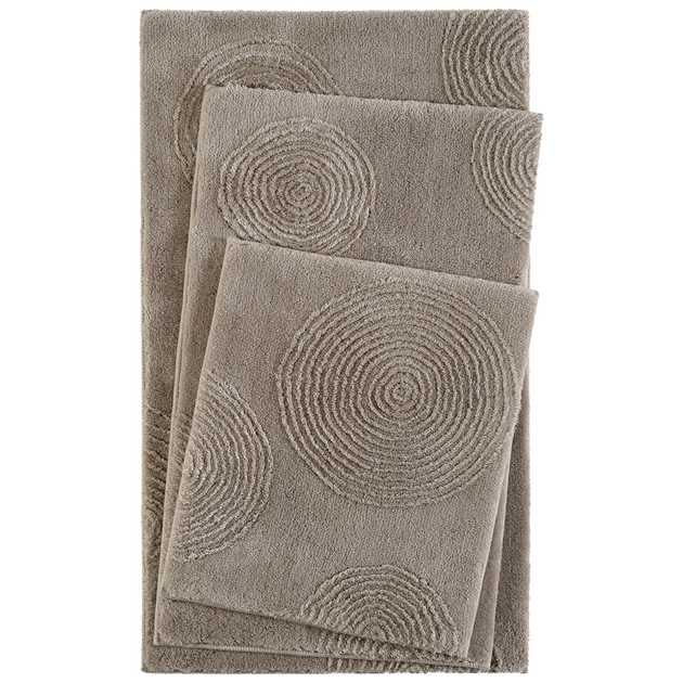 Yoga Bath Mats 2439 04 in Beige by Esprit