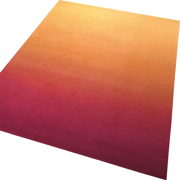 Sunrise Rugs 3301 09 In Orange And Pink By Esprit Free