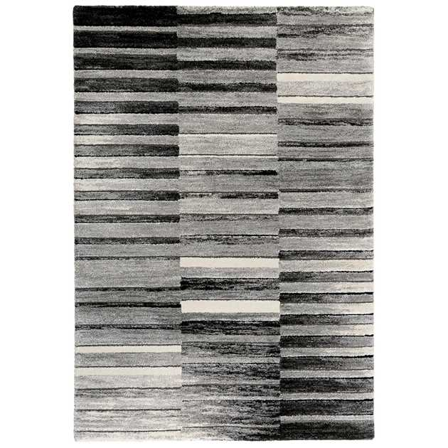 Wild Stripes Rugs 3389 953 by Esprit in Grey and Beige