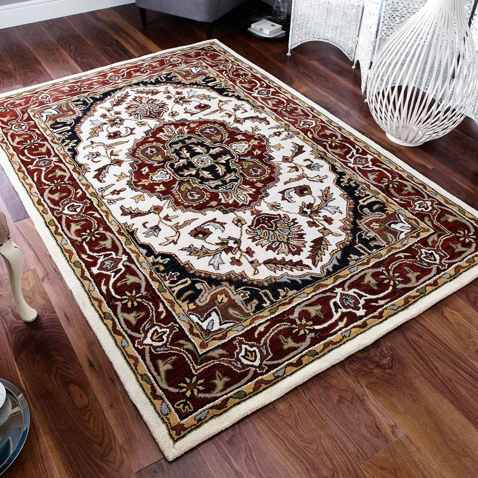 Orient Rugs 347 Ivory