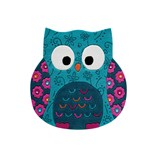 Little Owl 3659 01 - Turquoise
