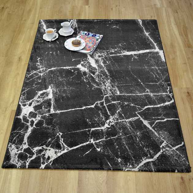 Marble Rugs 37201 792 in Dark Grey