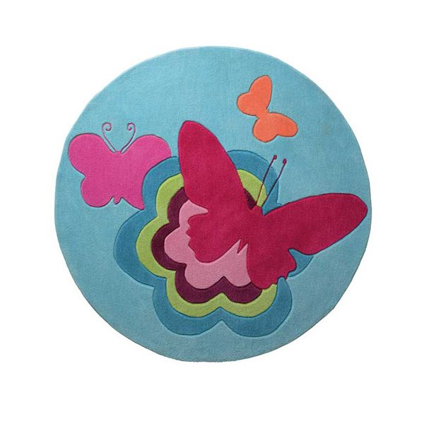Butterflies Circle 3811 01 - Multi