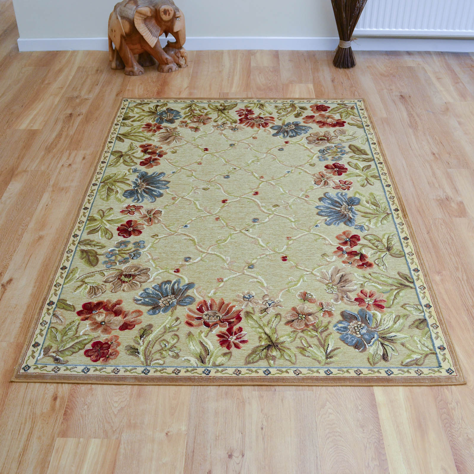 Genova Rugs 38262 2222 in Beige Gold
