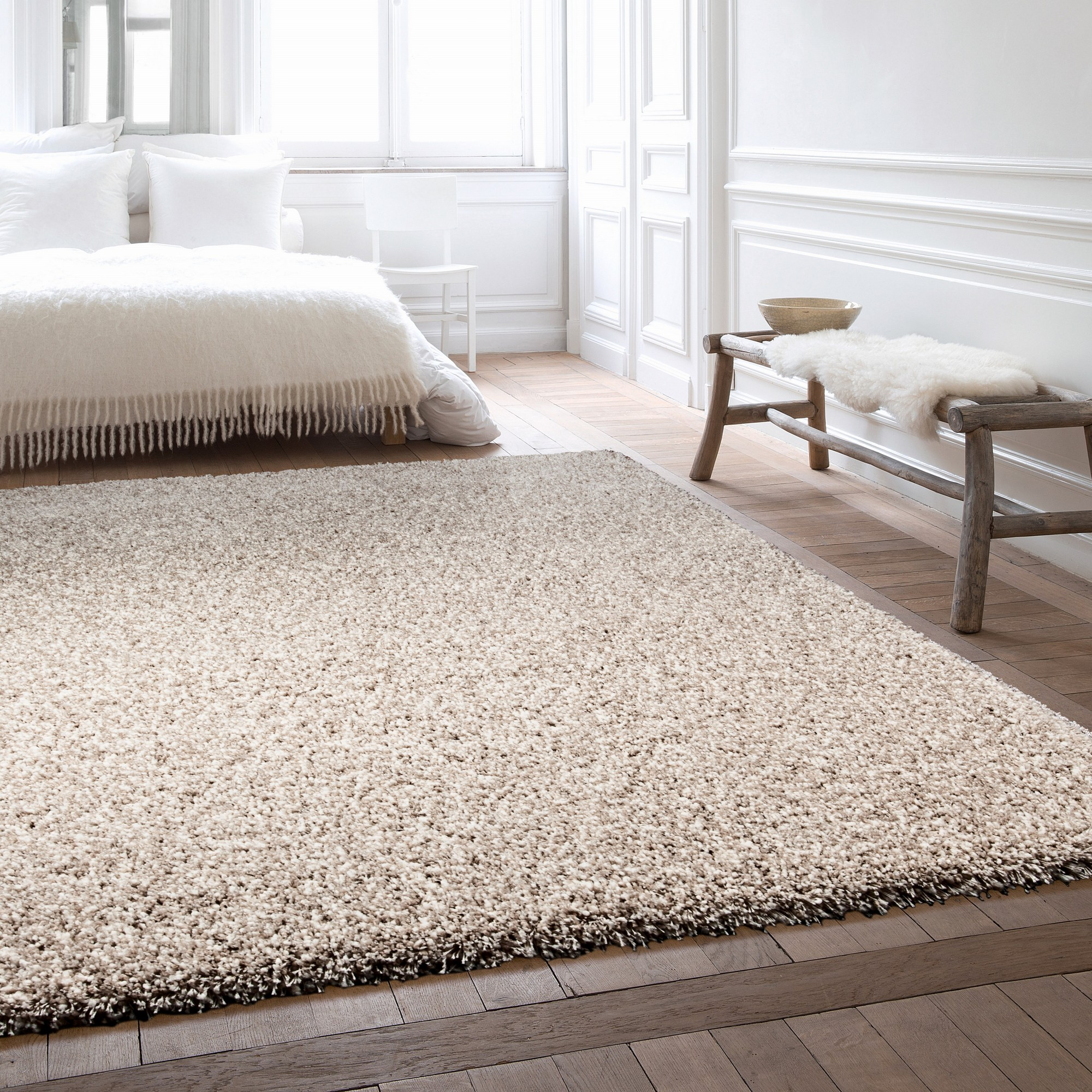Twilight Rugs 39001 2211 Linen White Mix