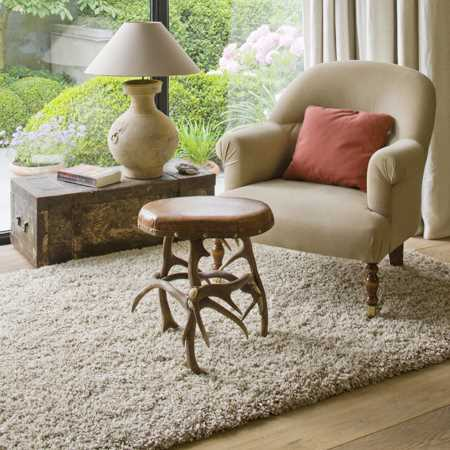 Twilight Rugs 39001 2868 Beige White Shaggy