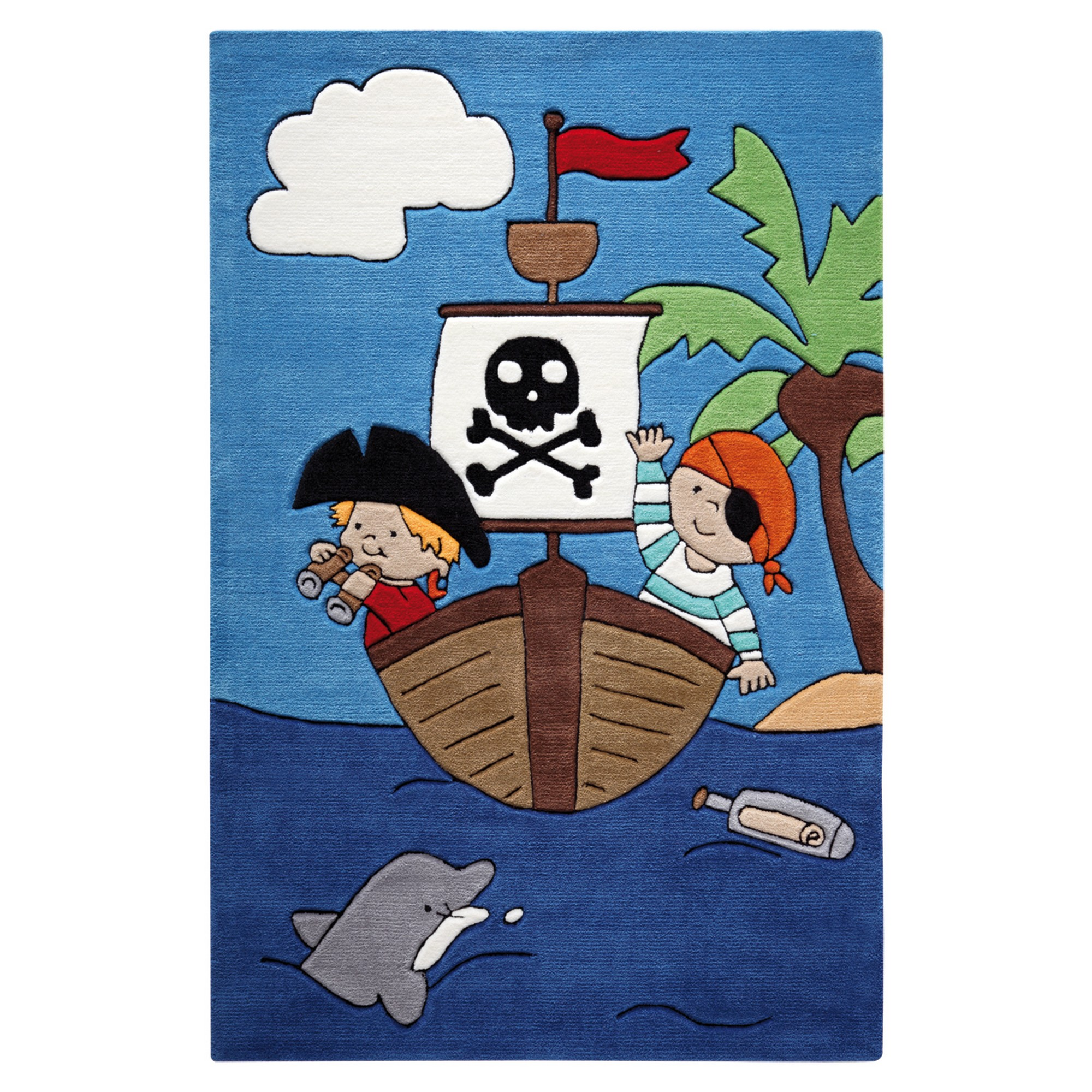 Pirate Kids Rugs 3965 01