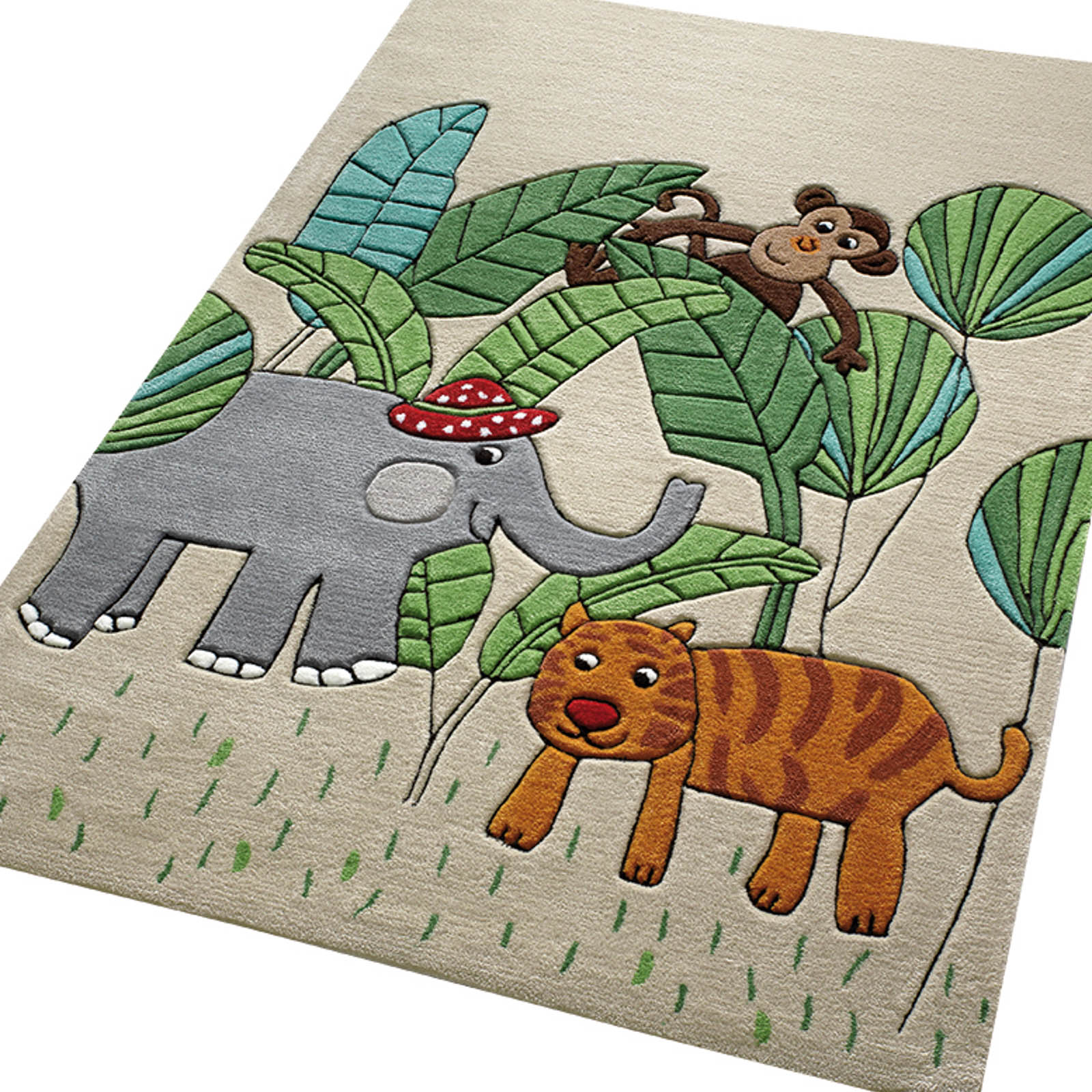 Jungle Friends Rug Home Decor