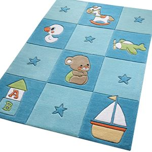 Newborn Rugs 3986 02 In Pink Free UK Delivery The Rug