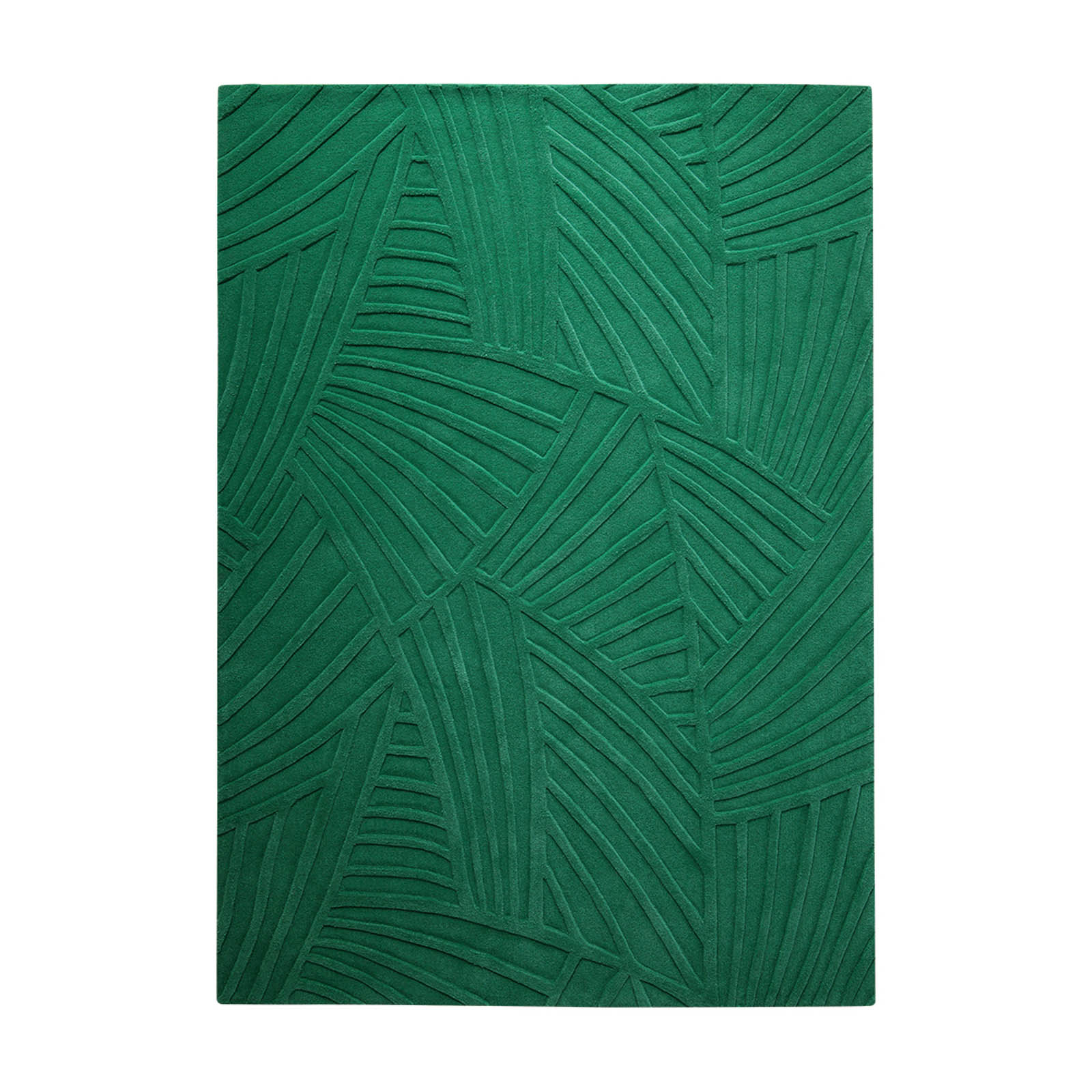 Palmia Rugs 4003 01 in Green by Esprit