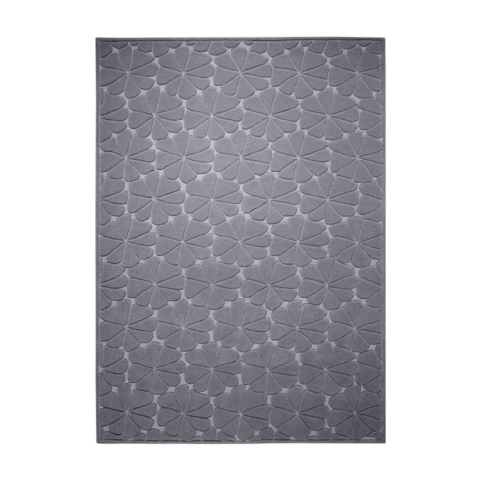 Ficus Rugs 4019 01 in Dark Grey by Esprit