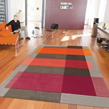 Intersection Rugs 4140 53 - Red
