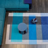 Intersection Rugs 4140 53 - Blue