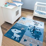 Kids Rugs 4151 53 - Blue