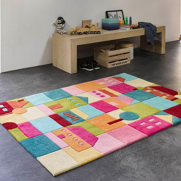Lalelu Kids Rugs - Blue