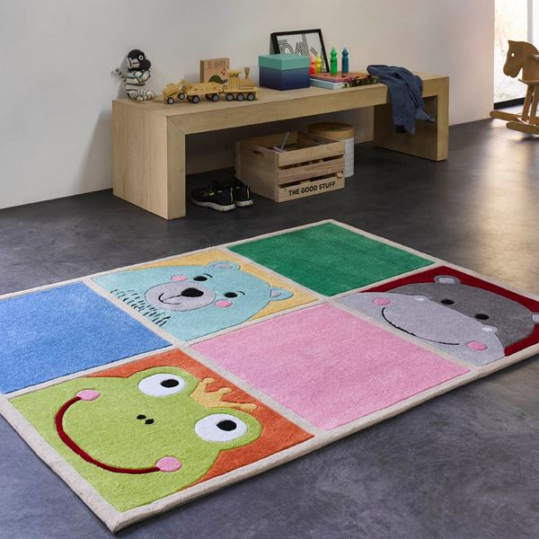 Whats up Kids Rugs - Multi