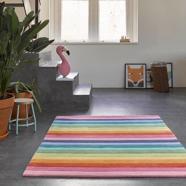 Rainbow Stripe Kids - Multi