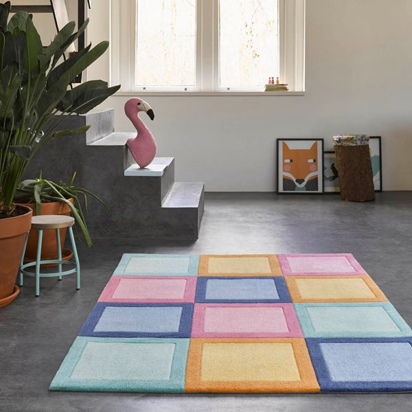 Domino Day Kids Rugs - Multi