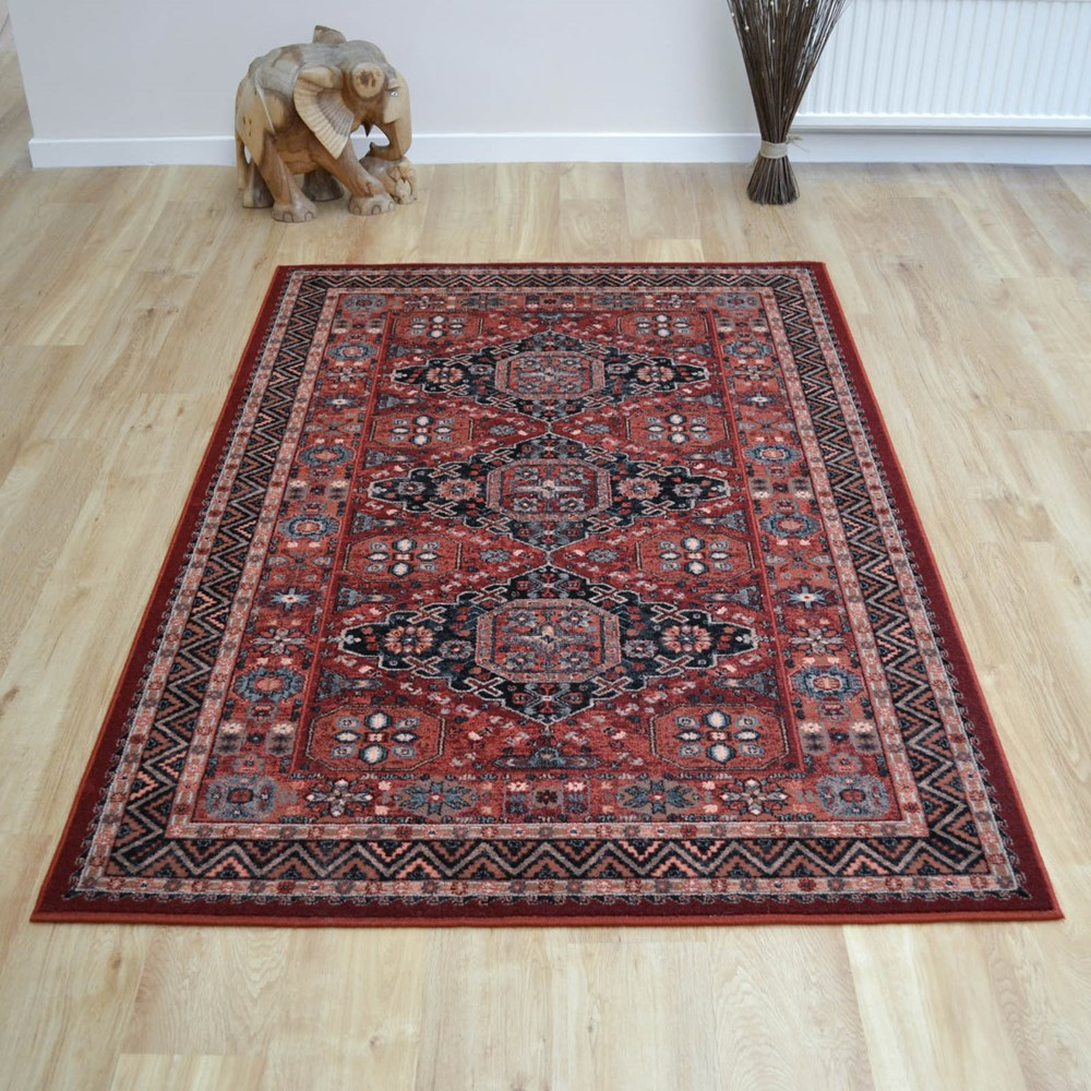 Royal Kashqai Rugs 4308 300 In Brick Buy Online From The