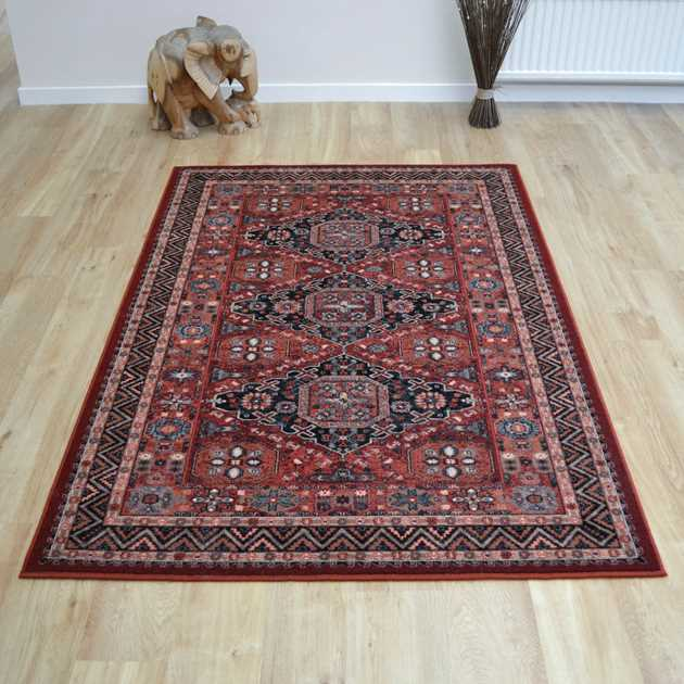 Royal Kashqai Rugs 4308 300 in Brick